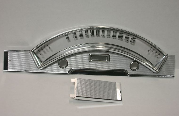 1958 Ford Fairlane Gauge Bezel Restoration