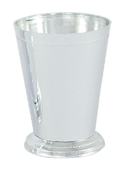 Silver Mint Julep Vasecup Vacuum Orna Metal
